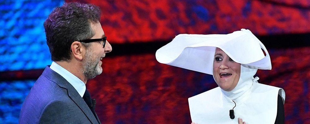 Che tempo che fa, Fabio Fazio scherza con Fiorello, il ritorno di Crozza