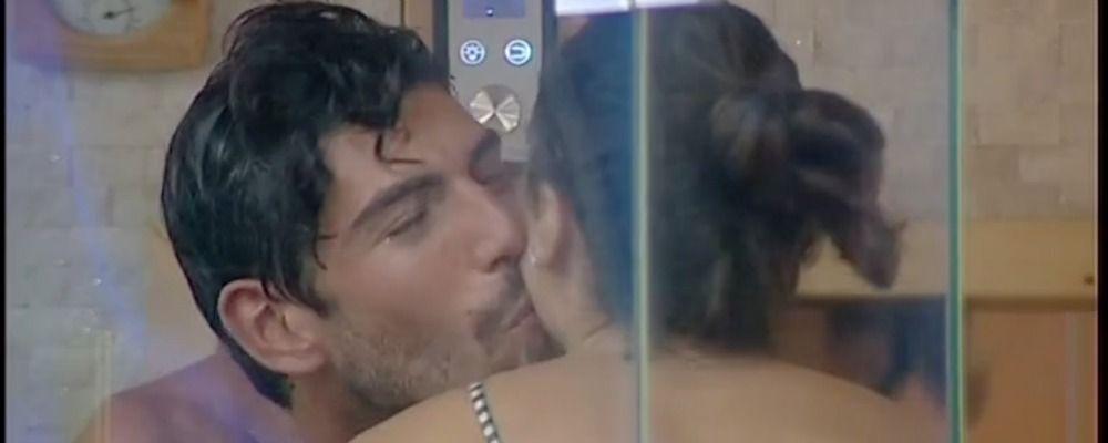 Grande Fratello Vip 2, baci in sauna tra Cecilia Rodriguez e Ignazio Moser