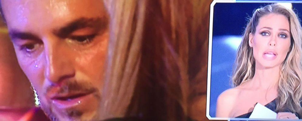Grande Fratello Vip 2, le lacrime di Daniele Bossari con la figlia Stella