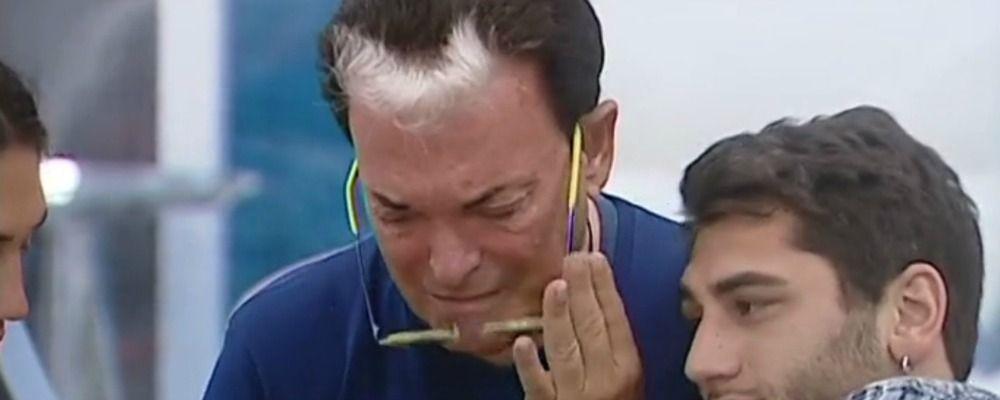 Grande Fratello Vip 2, le lacrime di Cristiano Malgioglio