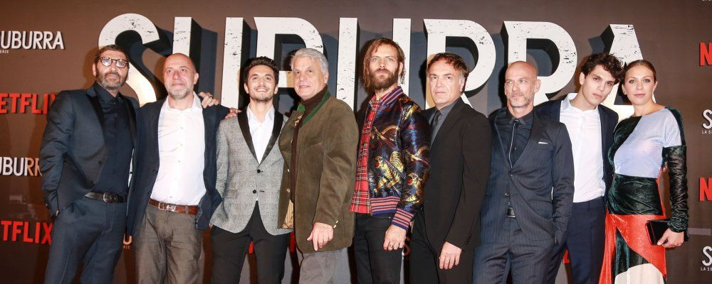Netflix, Suburra: red carpet a Roma prima del via in tutto il mondo