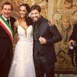 Edoardo Stoppa e Juliana Moreira nozze lampo a Milano