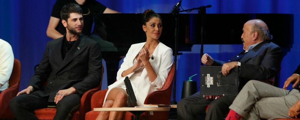 Maurizio Costanzo Show, Belen Rodriguez commenta la fine della storia con Andrea Iannone