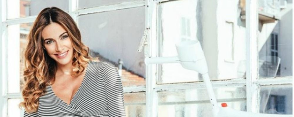 Melita Toniolo pronta al parto: 'Non manca molto'