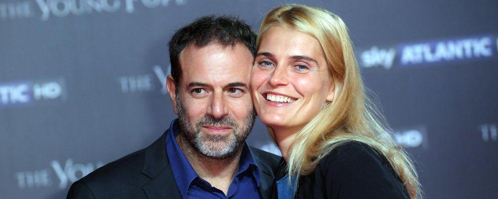 Claudia Zanella e Fausto Brizzi di nuovo insieme, ma solo per la figlia