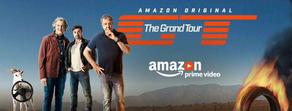 The Grand Tour stagione 2: al via su Amazon prime video l'8 dicembre