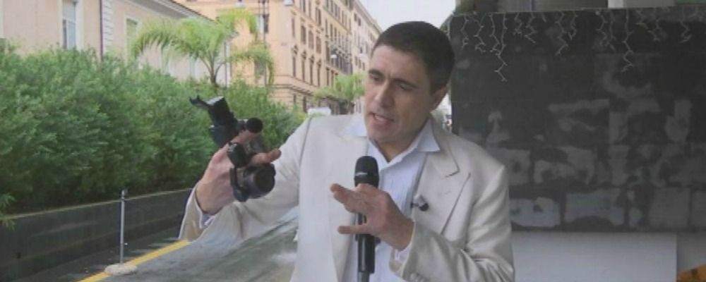 Striscia la notizia, Moreno Morello aggredito a Roma da finto diplomatico