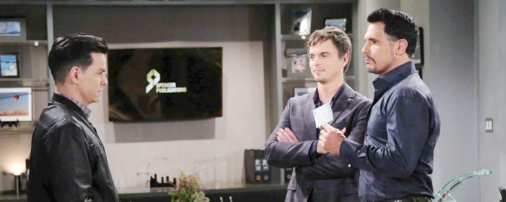 Beautiful, Ridge licenzia Thomas dalla Forrester: anticipazioni puntata 6 gennaio