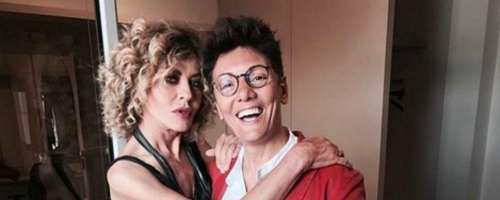 Imma Battaglia sposa Eva Grimaldi: 'E' il punto fermo della mia vita'