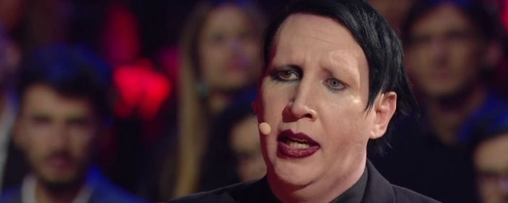 Marilyn Manson da Paolo Bonolis a 'Music': 'Quando ero Bryan non mi piacevo'