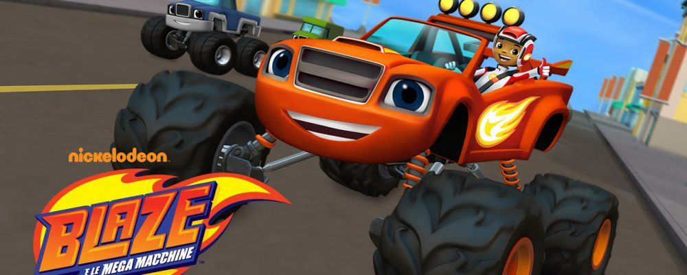 Paw patrol e blaze e le mega macchine tutti gli episodi for Cartoni blaze