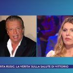 Vittorio Cecchi Gori, l'ex moglie Rita Rusic a La vita in diretta: 'Abbandonato da tutti'