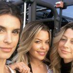 Veline a Los Angeles: reunion tra Elisabetta Canalis, Maddalena Corvaglia e Costanza Caracciolo