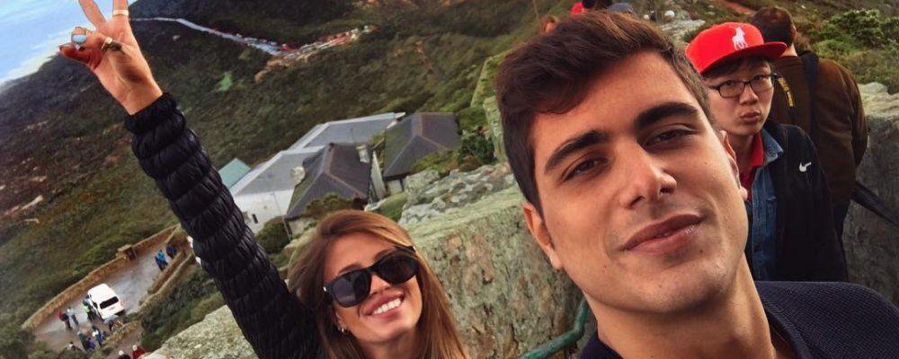 Isola dei Famosi: chi è Ugo Abbamonte, il fidanzato di Chiara Nasti