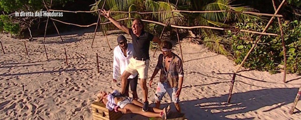 Isola dei famosi 2018 sesta puntata: il canna-gate e l'addio di Giucas Casella