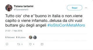 #IoStoConMetaMoro la mobilitazione dei fan su Twitter
