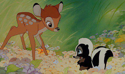 Bambi compie 70 anni il cerbiatto orfano e altre storie tristi per