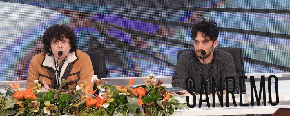 Sanremo 2018, Fabrizio Moro ed Ermal Meta: 'Siamo stati male, non abbiamo dormito la notte'