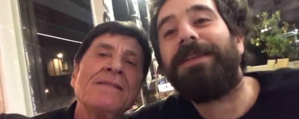 Sanremo 2018, Gianni Morandi e l'invito a Tommaso Paradiso: 'Sali sul palco con me'