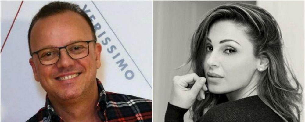 Anna Tatangelo e Gigi D'Alessio insieme da Vasco Rossi