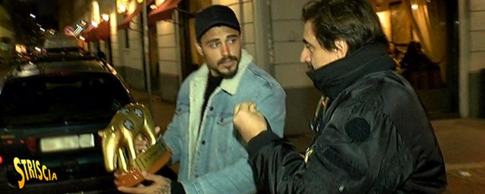Tapiro d'oro per Francesco Monte per la presunta droga all'Isola dei famosi