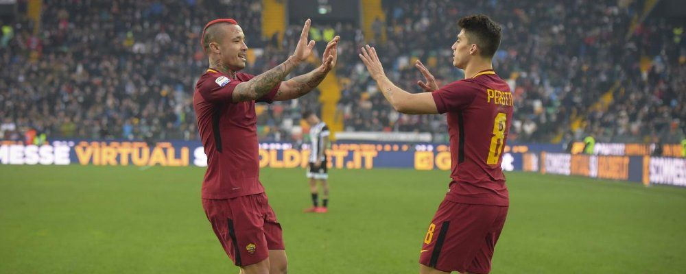 Ascolti tv, oltre 8.7 milioni di telespettatori per Roma - Liverpool