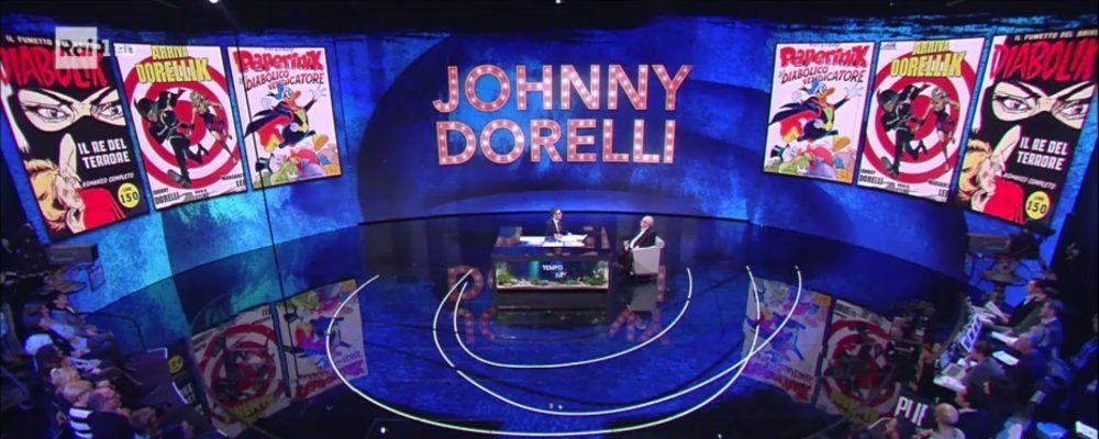 Che tempo che fa, il ritorno di Johnny Dorelli: canta e suona dopo più di dieci anni