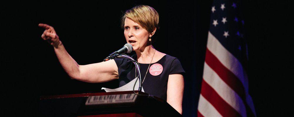 Sex And the City, Cynthia 'Miranda' Nixon si candida a governatore di New York