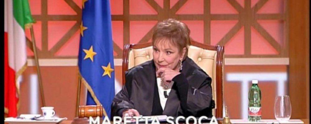 Lutto per Forum, è morta la giudice Maretta Scoca