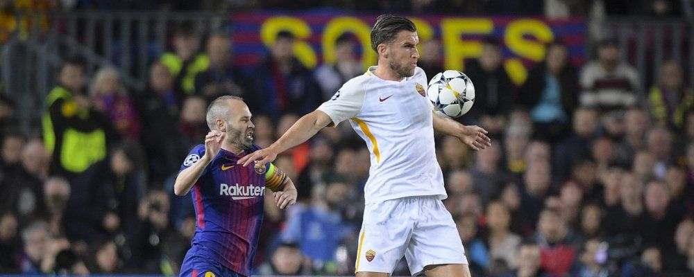 Champions League, la Roma affronta il Barcellona con la forza della disperazione