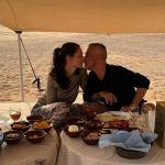 Eros Ramazzotti e Marica Pellegrinelli: romantica vacanza nel deserto