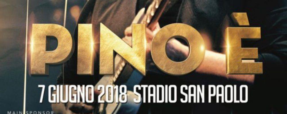 Pino è, il 7 giugno a Napoli il più grande tributo dal vivo a Pino Daniele