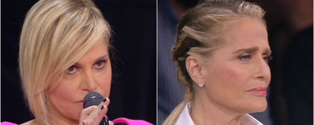Amici 17 quarto serale Simona Ventura contro Heather Parisi: 'Posa il fiasco'