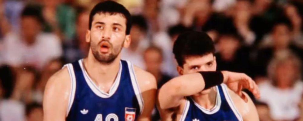 Divac e Petrović: mai più fratelli, tragica storia di amicizia, basket e guerra