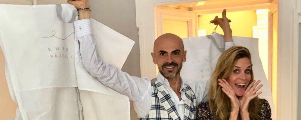 Matrimonio Filippa Lagerback - Daniele Bossari: il comando passa a Enzo Miccio