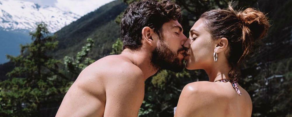 Cecilia e Ignazio, il trionfo dell'amore e del fisico scolpito alle terme