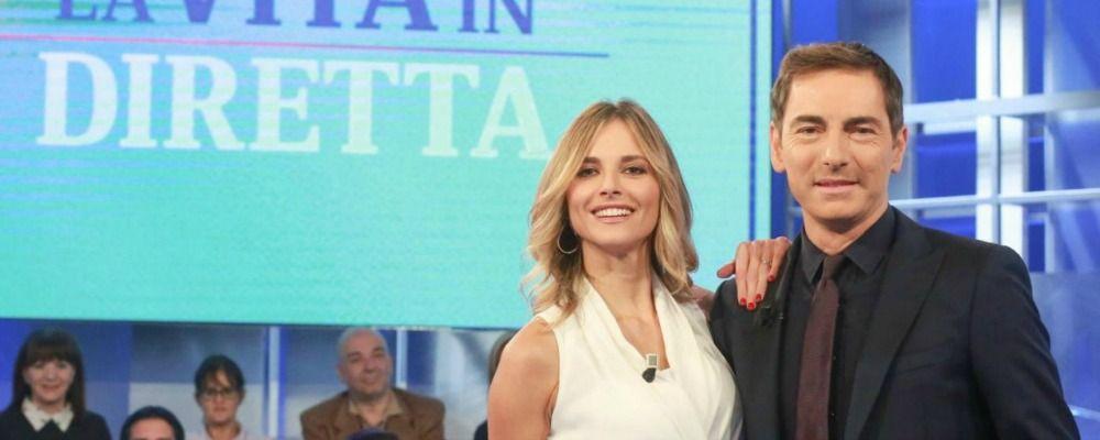 Francesca Fialdini commenta l'addio di Marco Liorni a La vita in diretta