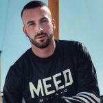 Andreas Müller il ballerino di Amici a Sanremo con Claudio Baglioni, ma senza barba