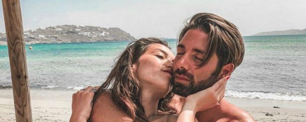 Claudio D'Angelo e Ginevra Pisani crisi superata ora sognano una famiglia