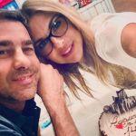 Martina Colombari e Alessandro Costacurta, anniversario di matrimonio social