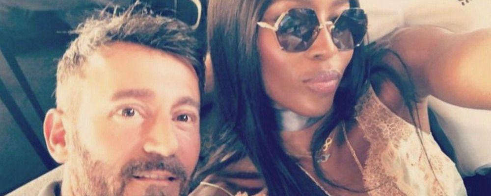 Max Biaggi e Naomi Campbell di nuovo insieme dopo vent'anni