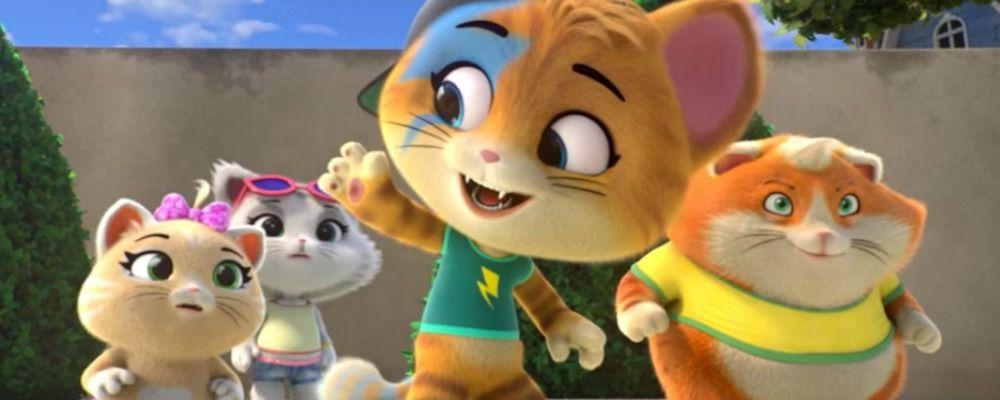 Cartone animato 44 gatti rai yoyo