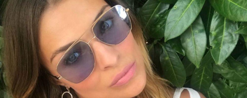 Cristina Chiabotto, prima foto social con il nuovo amore: è un romantico bacio
