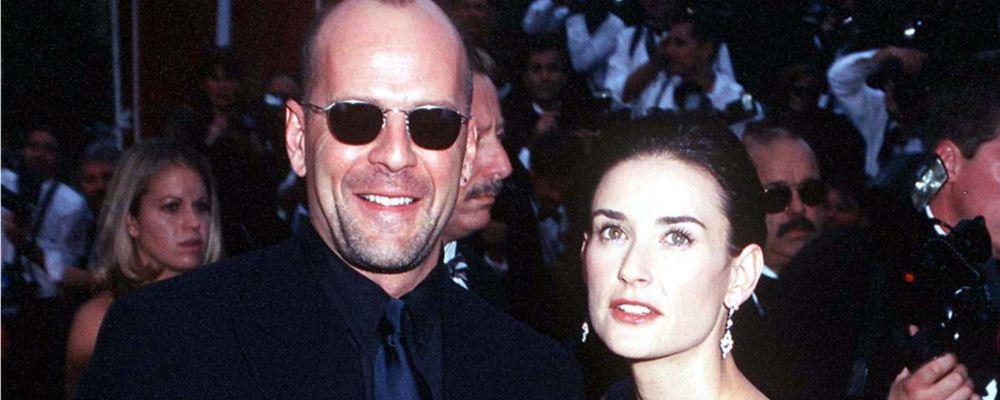 Demi Moore sul divorzio da Bruce Willis: 'Geloso perché rasata sto meglio di lui'