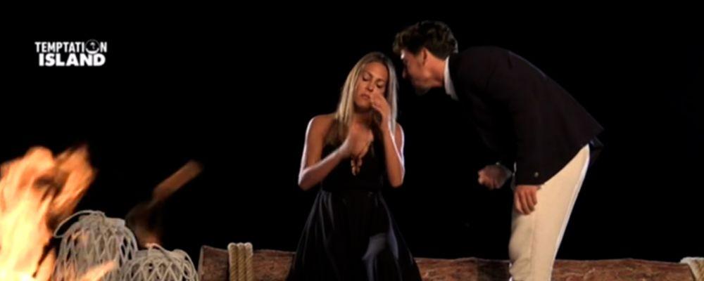 Temptation Island 2018, Martina non bacia Andrew ma poi fa infuriare Gianpaolo