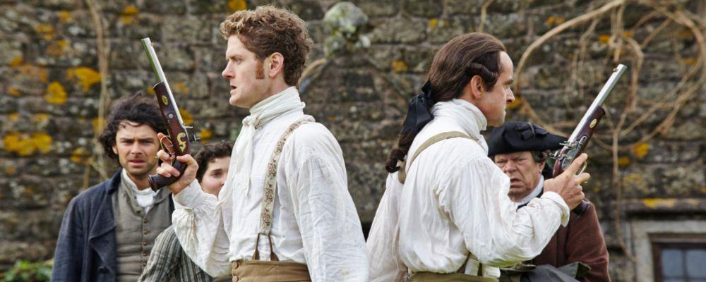 Poldark, duello tra Francis e capitan Blamey: anticipazioni puntata 15 luglio