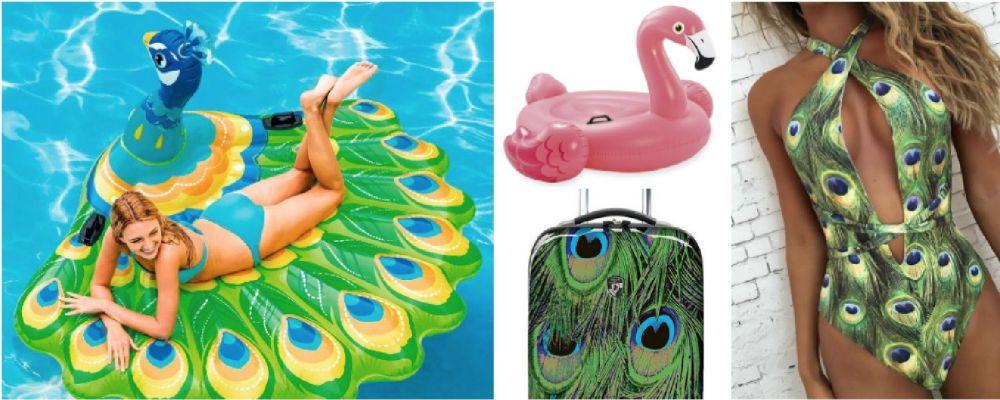 I migliori gadget per le vacanze: un'estate tra pavoni e fenicotteri
