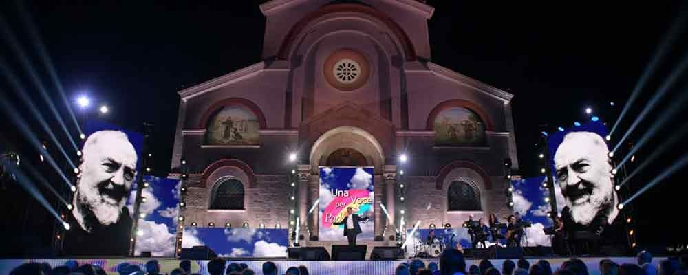 Una voce per Padre Pio, serata evento di solidarietà su Raiuno