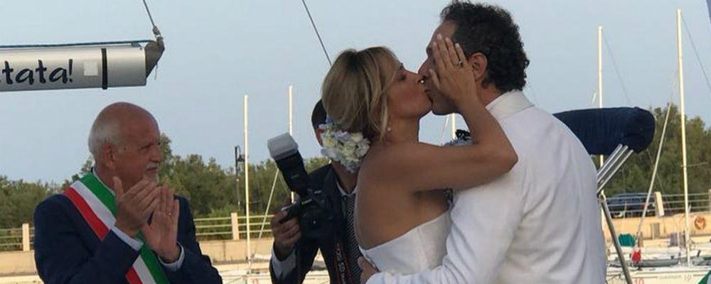 Matrimonio Francesca Barra e Claudio Santamaria, (di nuovo) sposi a Policoro