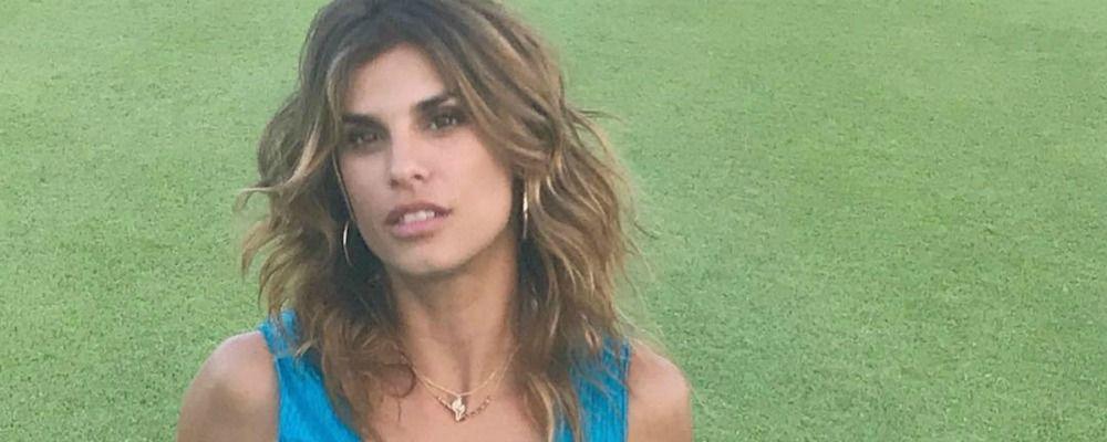 Elisabetta Canalis, è bufera per la foto della figlia su Instagram